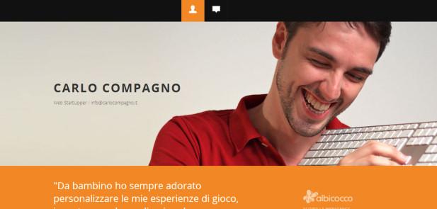 Carlo Compagno - realizzazione sito web